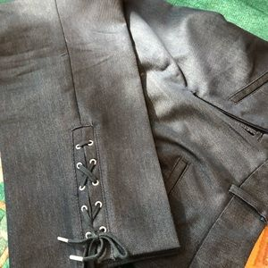 Talbots Denim Ankle Trouser Jean Pant 8p